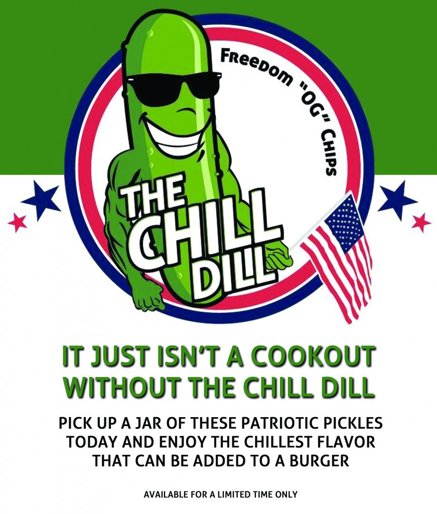 Patriotic Chip Flyer